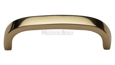 Heritage Brass Polished Brass Cabinet Door Pull Handle C1800