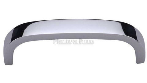 Heritage Brass Polished Chrome Cabinet Door Pull Handle C1800