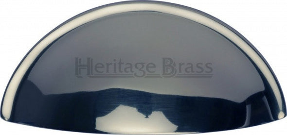 Heritage Brass Polished Chrome Cup Cabinet Handle