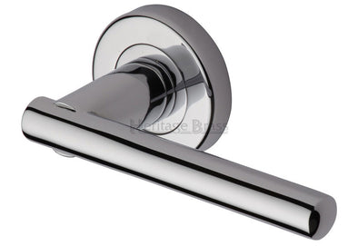 Heritage Brass Challenger Round Rose Polished Chrome