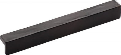 Tudor Collection Matt Black Powder Coated 'L' Pull Cabinet Handle 203 mm Hole Centres