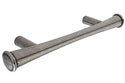 PWS Pewter 96mm Hole Centre Bar Cabinet Handle