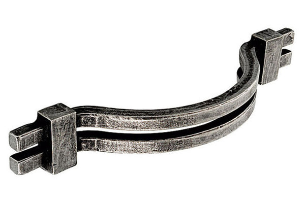 PWS Pewter Bow Cabinet Handle 128mm