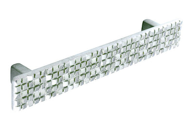 PWS Dull Nickel Mosaic Bar Handle 128mm