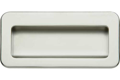 Hafele Inset Matt Chrome Cabinet Handle