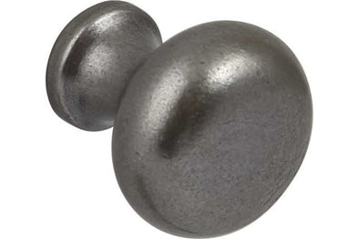 Hafele Pewter Finish 35 mm Cabinet Knob
