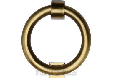 Heritage Brass Ring Knocker Antique finish
