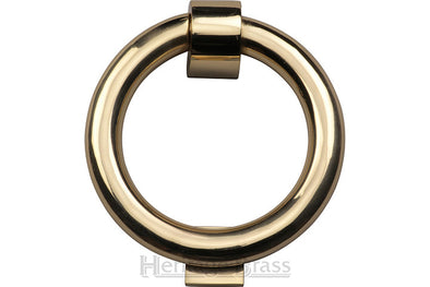 Heritage Brass Ring Knocker Polished Brass finish