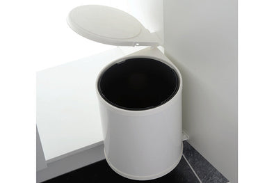 PWS White Automatic 13 litre Waste Bin