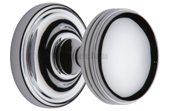 Heritage Brass Whitehall Polished Chrome Mortice Knob