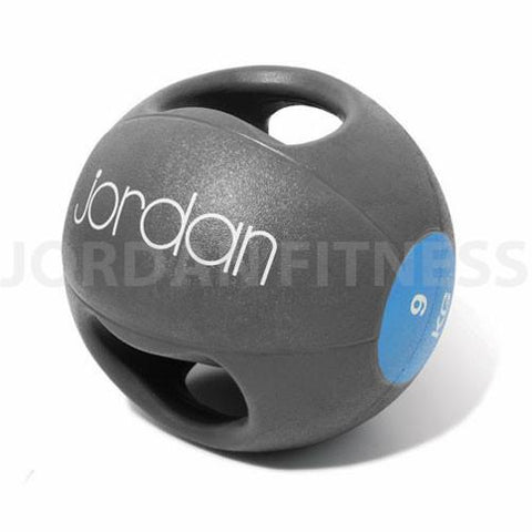 9kg Double-Grip Medicine Balls - First Physique