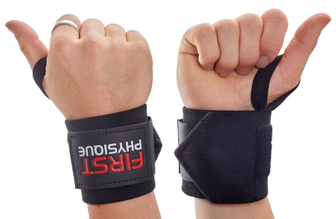 Super Heavy Duty Weight Lifting Gym Wrist Wraps - First Physique