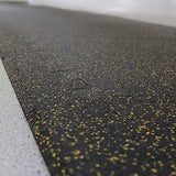 Black & Grey Fleck Rubber Flooring (12mm thickness) - First Physique