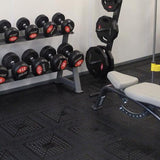 Easy-Lock Freeweight Flooring (12mm thickness) - First Physique