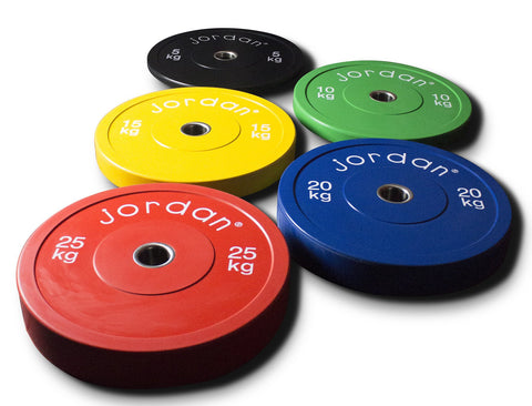 Coloured Bumper Plates - First Physique