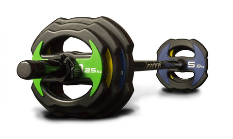 NEW Jordan Ignite V2 Urethane Studio Barbell Sets - PU Covered - Colour Coded - First Physique