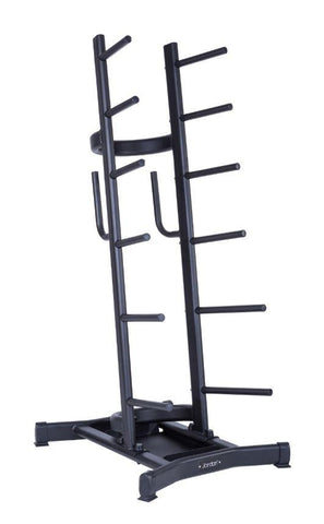 Studio Barbell Rack - Holds 12 sets - First Physique