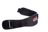 Weight Lifting Gym Belt Neoprene - 6 inch Velcro Fastening & Nylon Strap - First Physique
