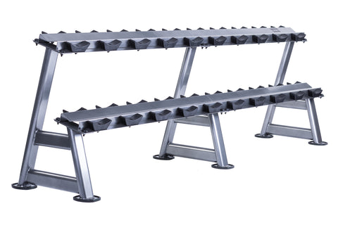 10 Pair Dumbbell Rack (2 tier) - First Physique
