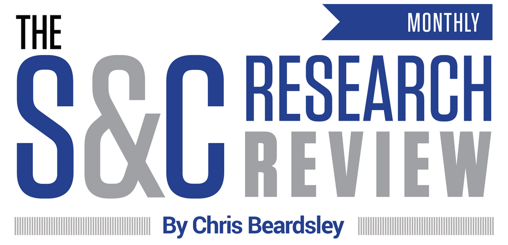 The S&C Research Review