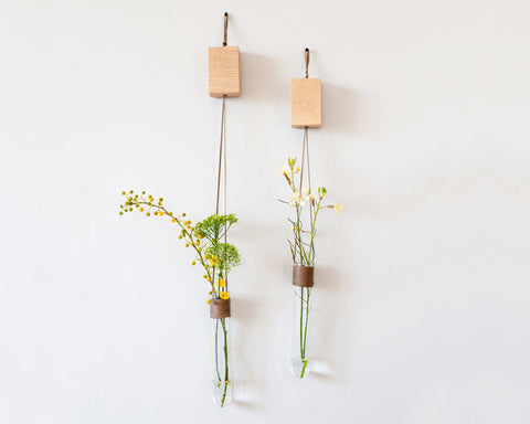 Pair of Tube Vase | Hang Around - Studio Connections - 1