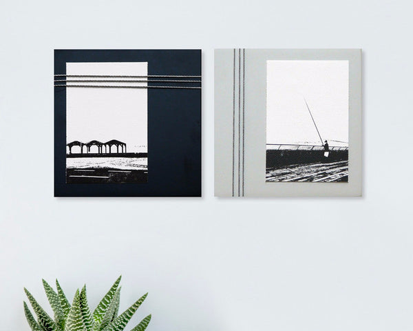 "Set of 2 wall pictures | ""Beach"" series - Studio Connections - 1"
