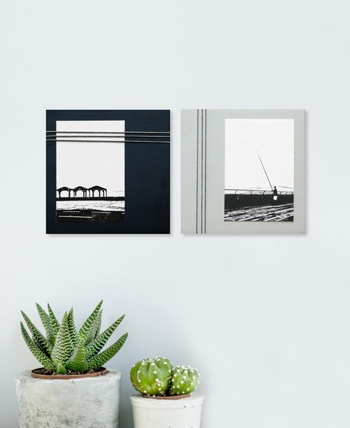 "Set of 2 wall pictures | ""Beach"" series - Studio Connections - 2"