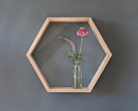 Hexagon Shelf | מדף משושה