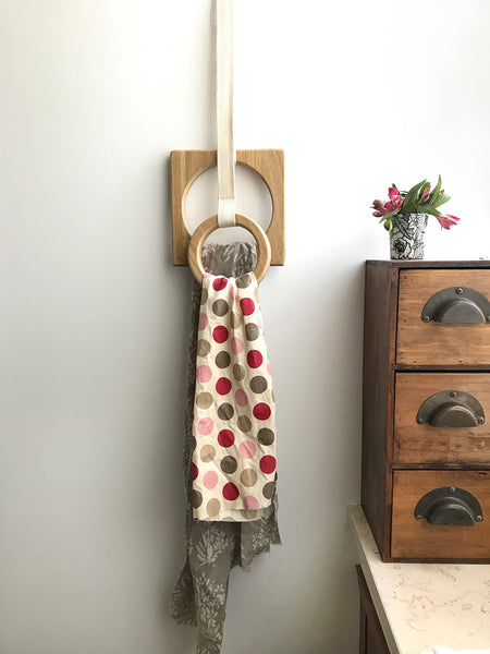 Towel hanger for kitchen or Scarf hanger