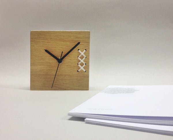 Desk Clock | Crossing Time - Studio Connections - 3