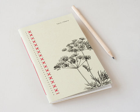 Embroidered Notebook | Huta - Studio Connections - 1