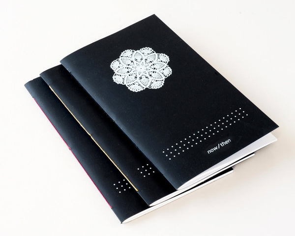 Notebook | White on Black - Studio Connections - 1