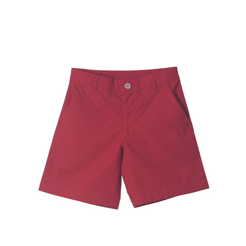 Boys' Slim Shorts in Red