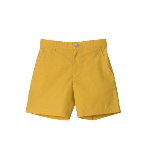 Boys' Slim Shorts in Yellow