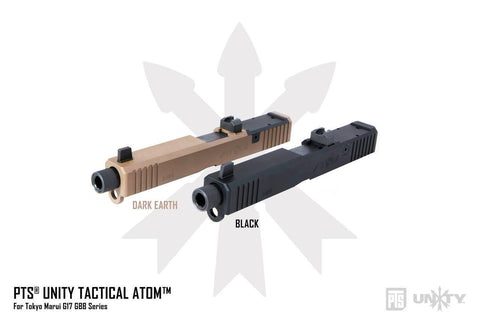 PTS UNITY TACTICAL ATOM™ SLIDE And Barrel Set For TM Tokyo Marui G17 Series Airsoft Gun (Special Order)