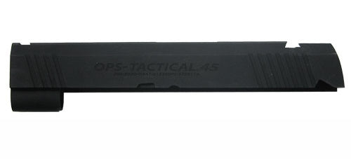Guarder Aluminum Slide For Tokyo Marui Hi-Capa 4.3 - Marui OPS Markings (Black)