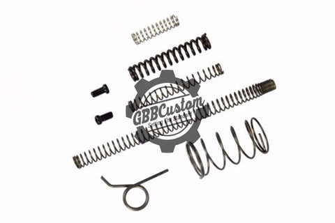GBBCustom Replacement Spring Set For TM Tokyo Marui 1911 Series Airsoft GBB (TM / WE / KJW)