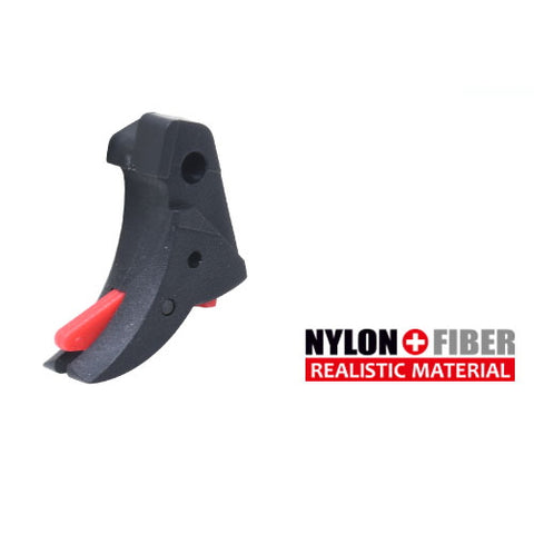 Guarder Smooth Trigger (Black/Red) For TM 18C/22/34