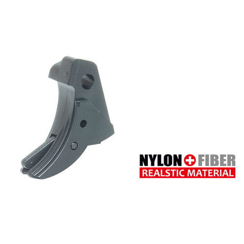 Guarder Ridged Trigger (Black) For TM G-Series 17/26