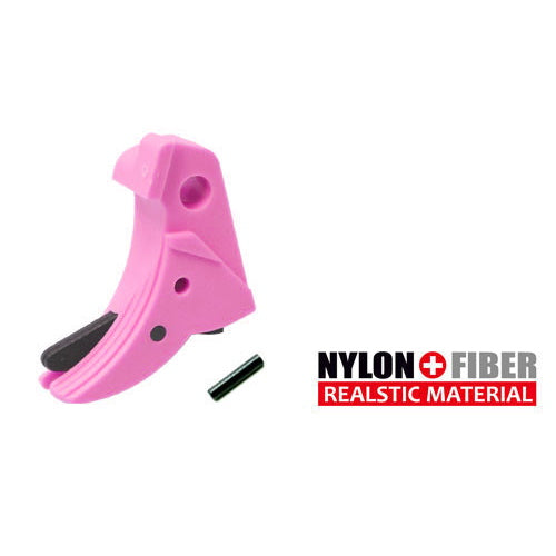 Guarder Ridged Trigger (Pink) For TM G-Series 17/26