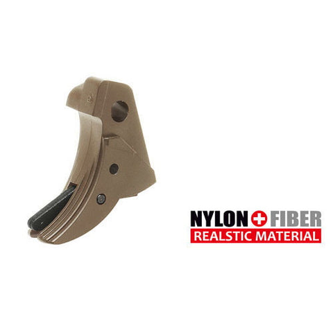 Guarder Ridged Trigger (Tan) For TM G-Series 17/26