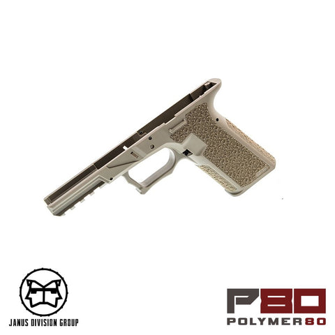 JDG Polymer80 Licensed P80 Frame for TM/WE 17 (FDE)