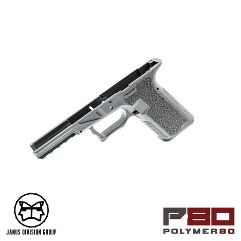 JDG Polymer80 Licensed P80 Frame for TM/WE 17 (GRY)