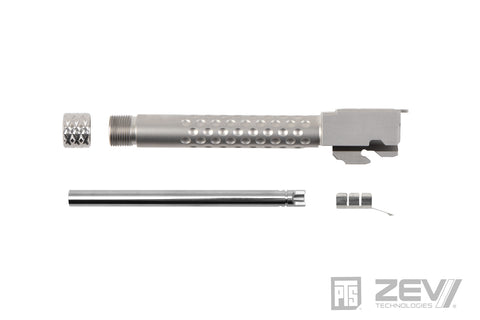 PTS ZEV Suppressor Threaded Dimpled Barrel for G-Series 17