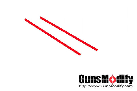 Guns Modify 2.0mm Fiber Optic Rod for Gun Sight (Red)