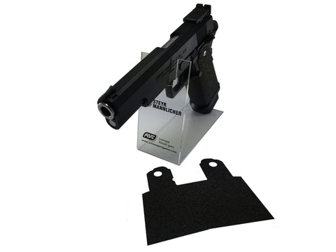 GBBCustom 5.1 Hi-Capa Shooter Ready Grip Tape (Jet Black) For 2011/HI-CAPA Airsoft Pistols
