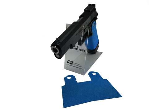 GBBCustom 5.1 Hi-Capa Shooter Ready Grip Tape (Nimbus Blue) For 2011/HI-CAPA Airsoft Pistols