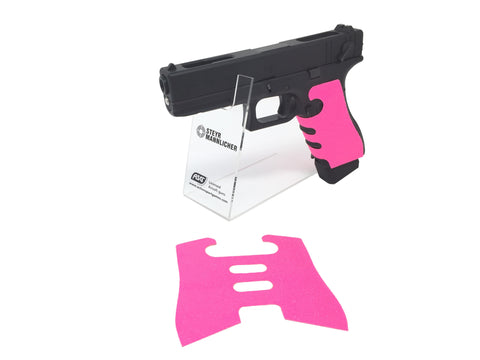 GBBCustom Glock Gen 3/4 Shooter Ready Grip Tape (Hot Pink) For G17, G18, G22, G24, G34, G35