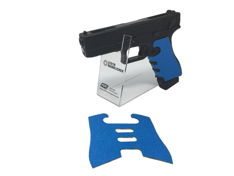 GBBCustom Glock Gen 3/4 Shooter Ready Grip Tape (Nimbus Blue) For G17, G18, G22, G24, G34, G35