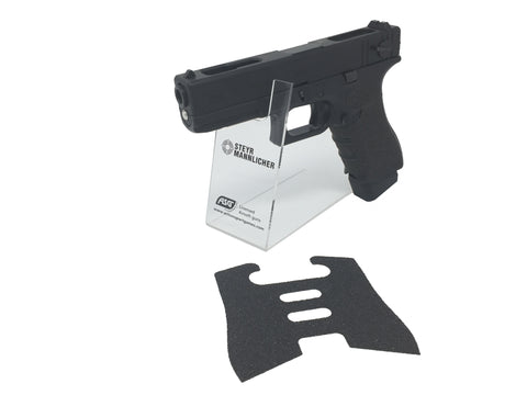 GBBCustom Glock Gen 3/4 Shooter Ready Grip Tape (Jet Black) For G17, G18, G22, G24, G34, G35